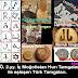 M.Ö. 2.yy. İç Moğolistan Hun Tamgaları ile eşleşen Türk Tamgaları