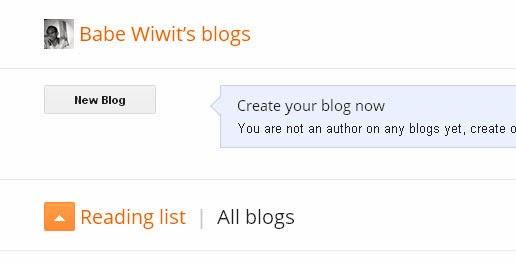 Cara mudah dan cepat membuat blog di blogspot