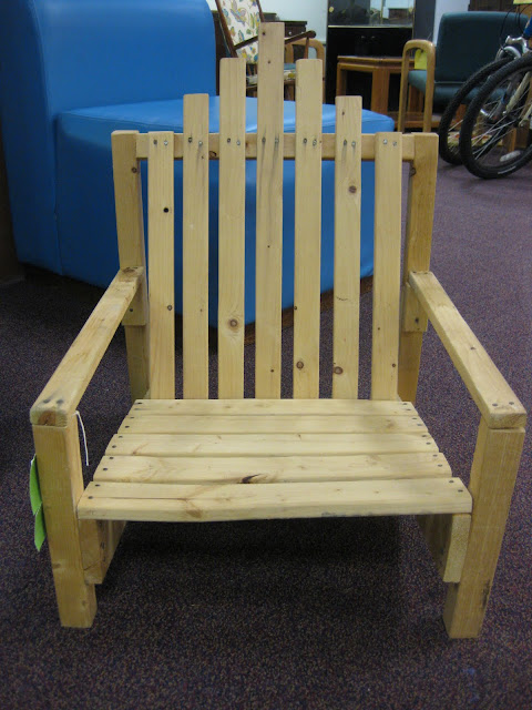 Doak And I Were On Another Thrift Store Adventure When We Found This Baby  Adirondack Chair For $12.00!