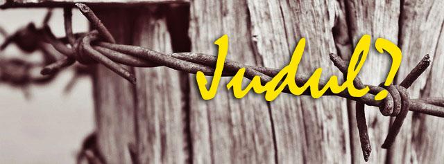 Tentukan Judul
