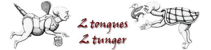 2 tongues ۰ 2 tunger