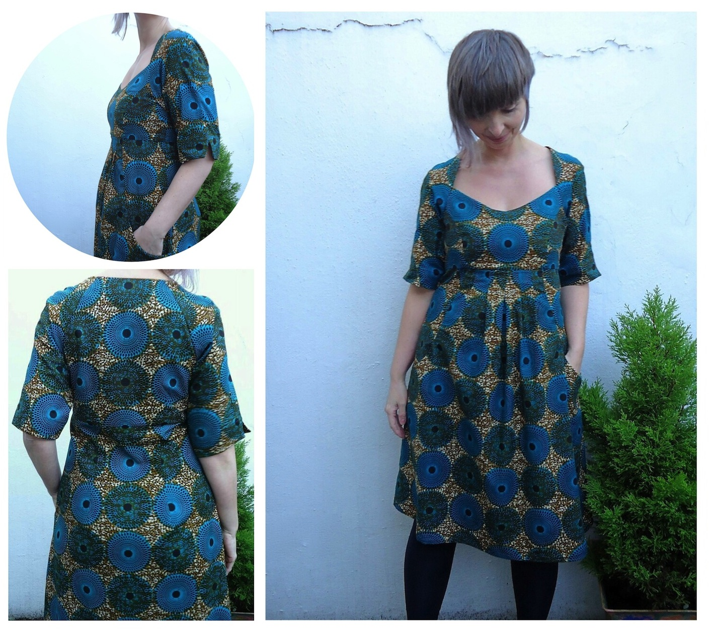 Simplicity 1800 Amazing Fit dress