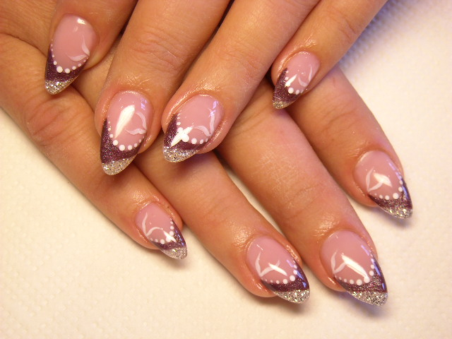 The Appealing Pink acrylic nail designs Photo