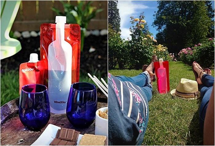 The Foldable Wine Bottle Wine2Go Photos