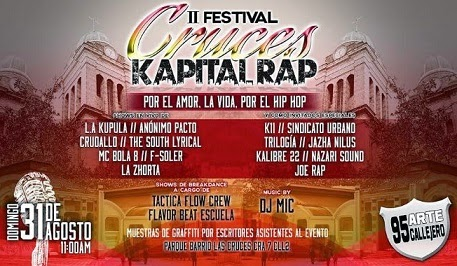 Festival de Hip Hop Cruces Kapital Rap