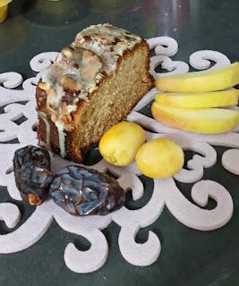 עוגת דבש בזיגוג סוכר