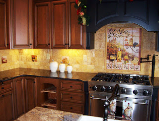 Tuscan Kitchen Backsplash Ideas
