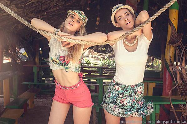 Shorts y faldas verano 2015 Sweet.