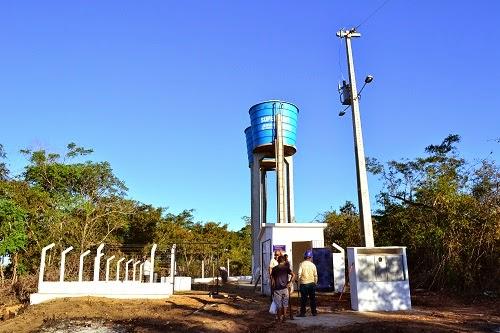 Prefeitura, SAAE e Codevasf entregam mais um sistema de abastecimento de água