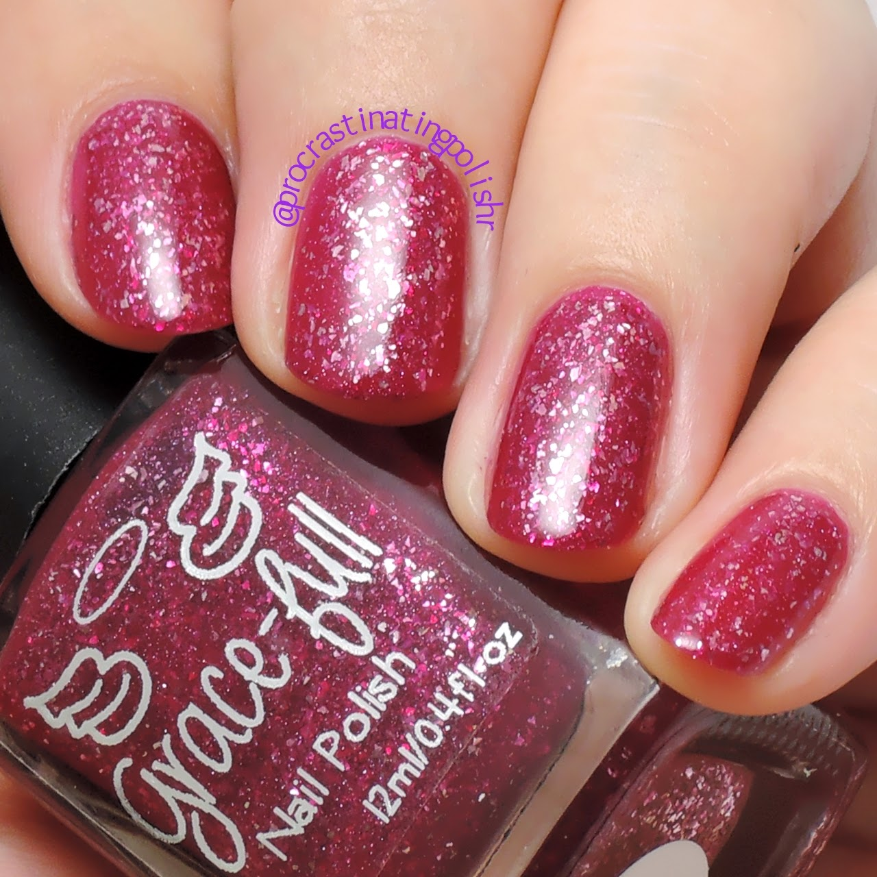 Grace-full Nail Polish - Love Sparkles | Valentine's Day Duo