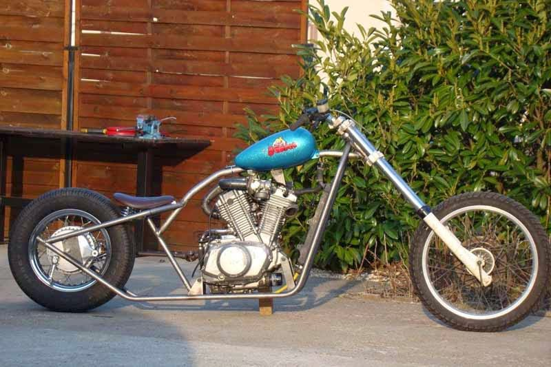 Suzuki VX800 Modif Chopper