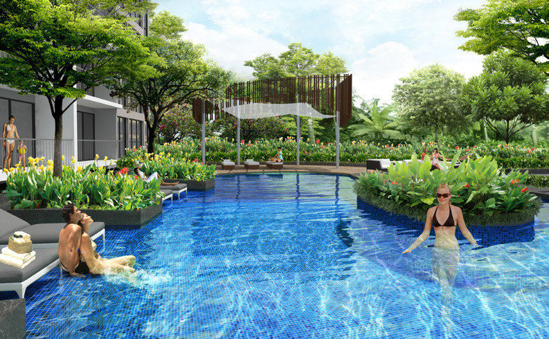 North Park Residences' landscape and features