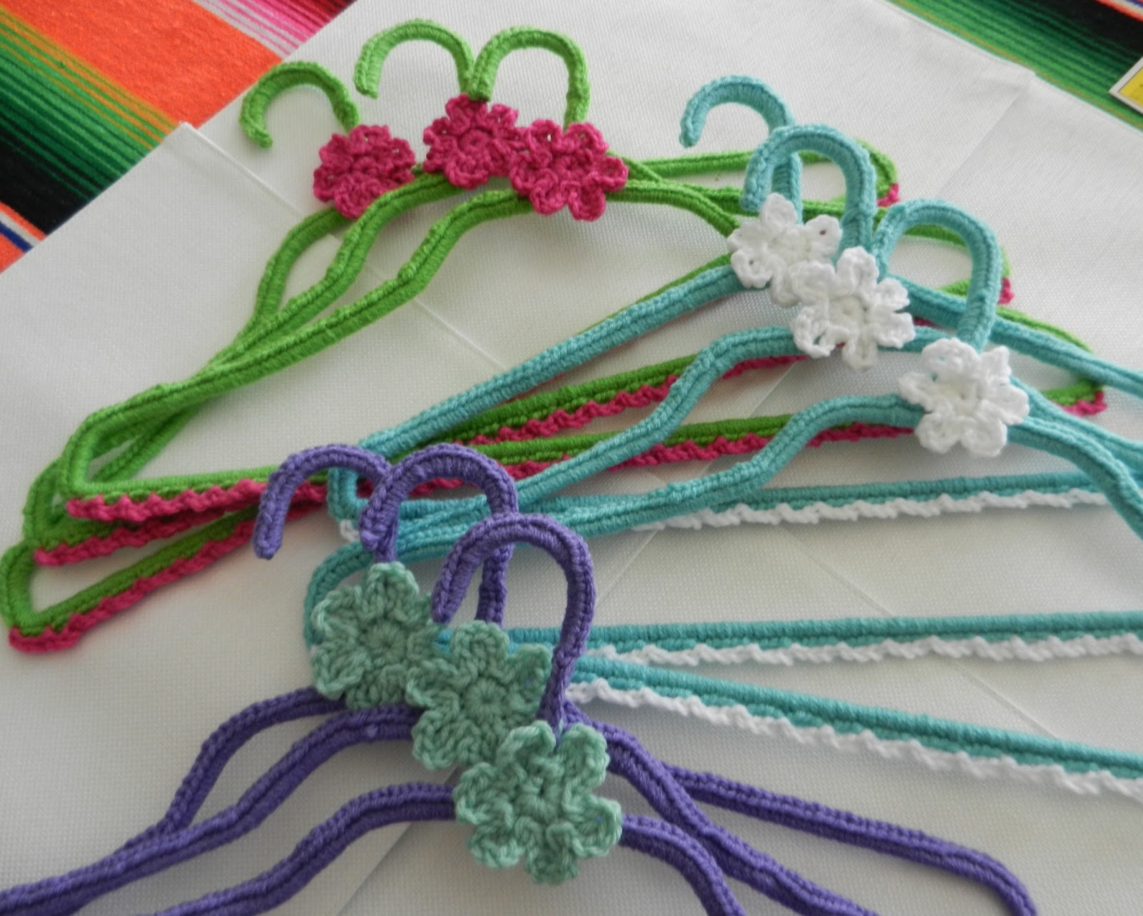 Crocheting On A Hanger : ... just crocheting around hangers so if you can crochet, you can do it