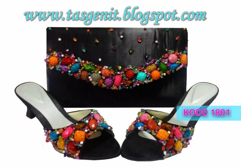 sandal pesta cantik, sepatu pesta online, tas pesta mewah, tas pesta cantik, jual sandal pesta