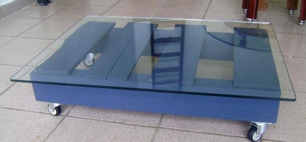 Reciclando e decorando mesa de centro pallet - Mesa centro palet ...
