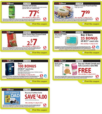 Coupons emailed daily