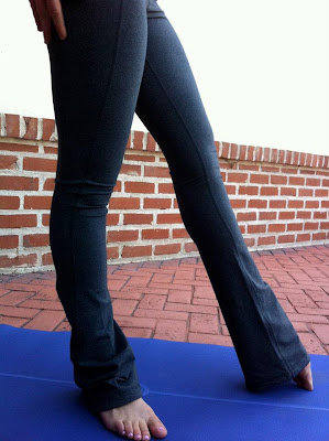 lululemon tadasana pant in coal