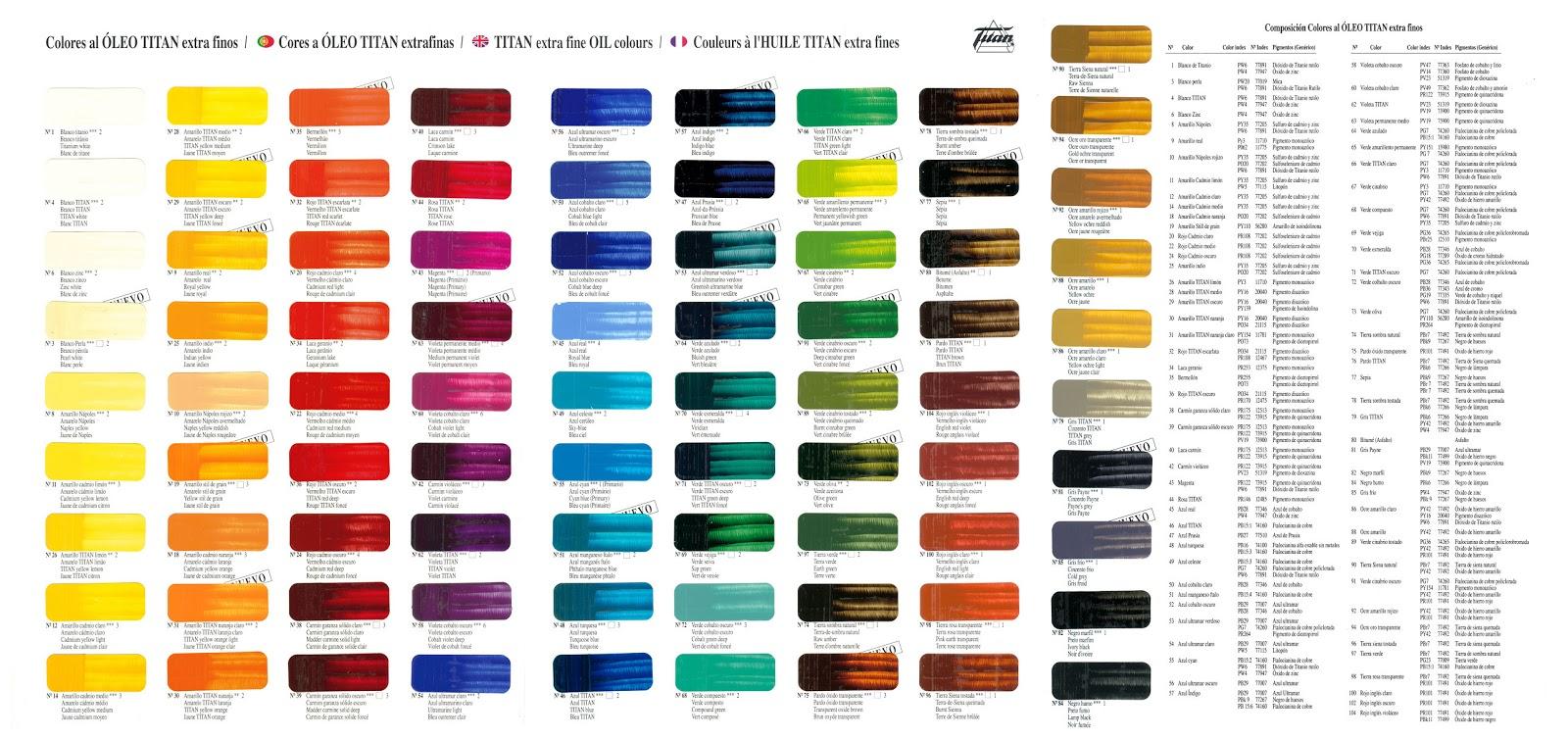 Art2key leos y marcas - Colores en pintura ...