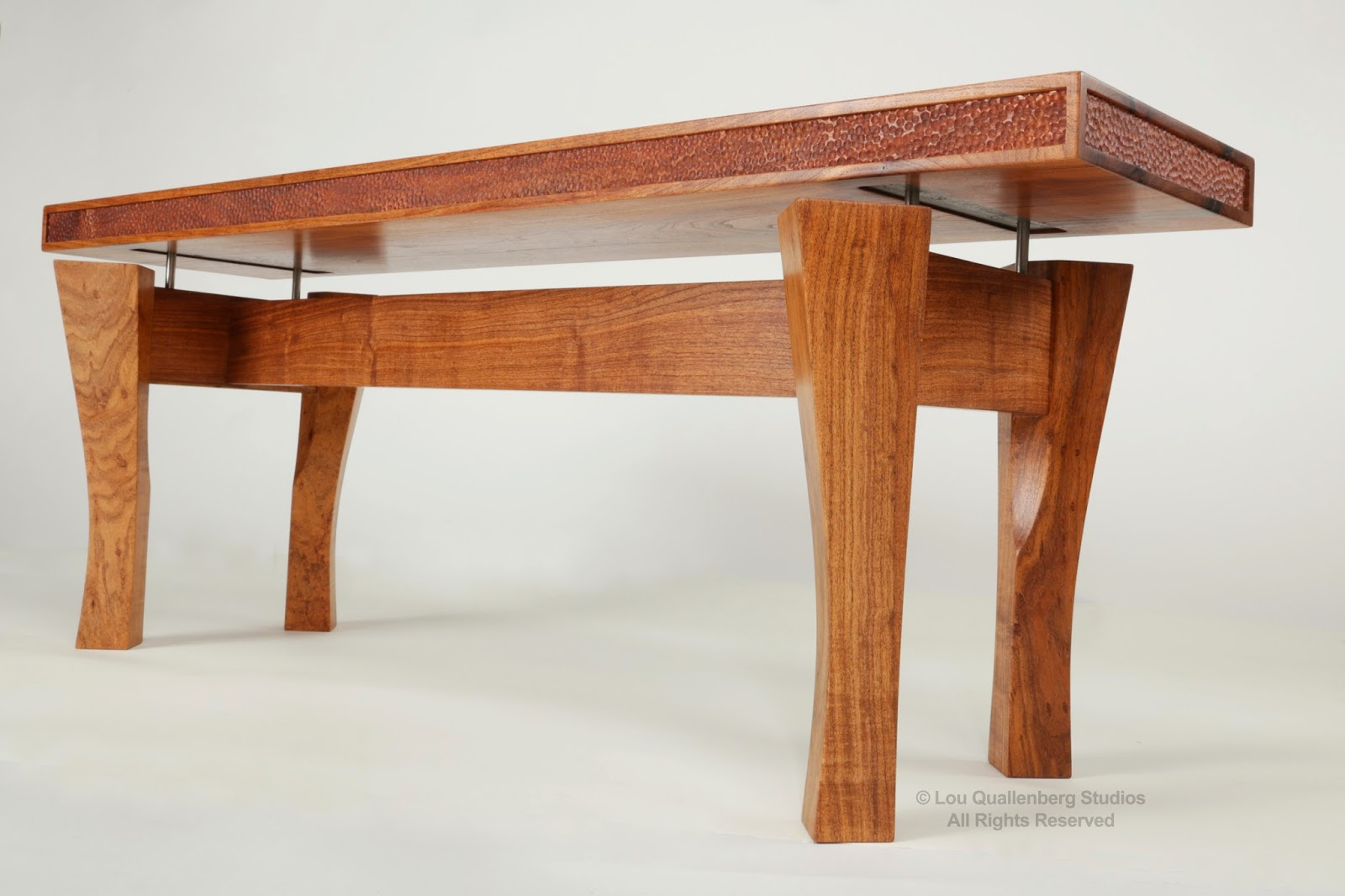 Mesquite Bench by Lou Quallenberg