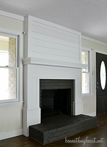 Fireplace / Mantel Makeover - Nest of Bliss