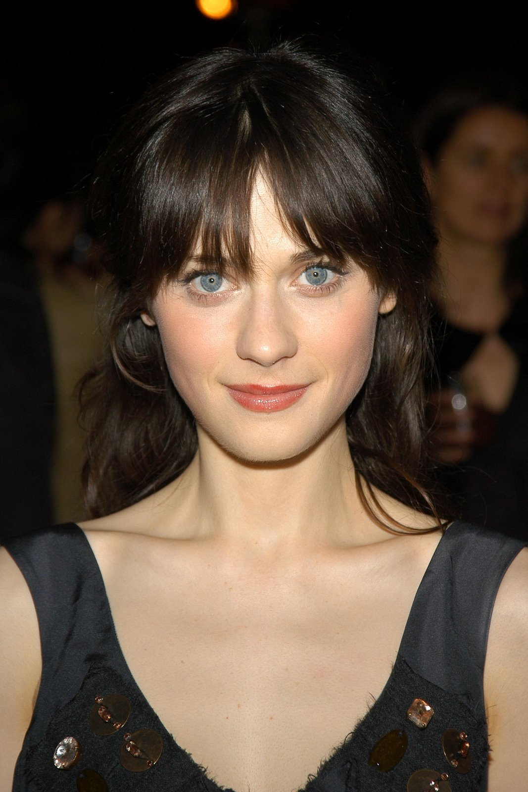 Zooey Deschanel Bangs All About Celebrity: Z...