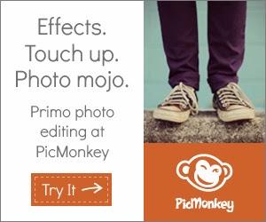 PicMonkey Online Image Editor via @Ileane