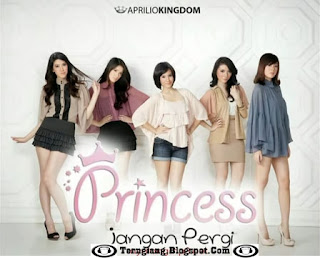 Lirik+Video Princess - Jangan Pergi (Lyric)