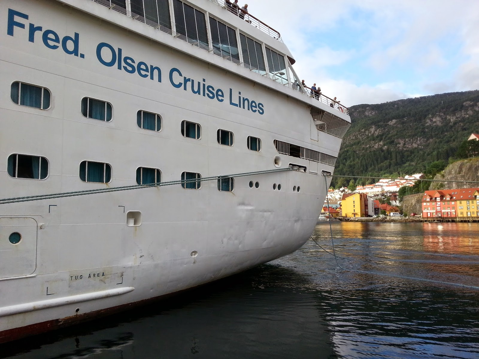 Cruise Ship Balmoral in Bergen
