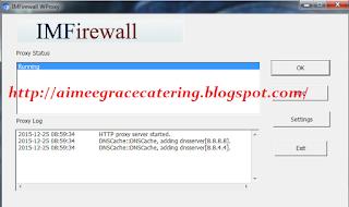 IMFirewall WProxy