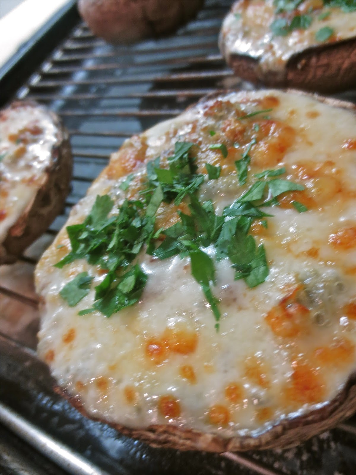 The hussy london housewife grilled stuffed mushrooms recipe with grilled stuffed mushrooms recipe with quark forumfinder Choice Image
