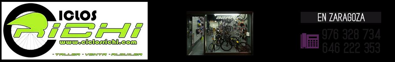 Bicicletas en Zaragoza · 976 32 87 34 · VENTA Y REPARACIÓN