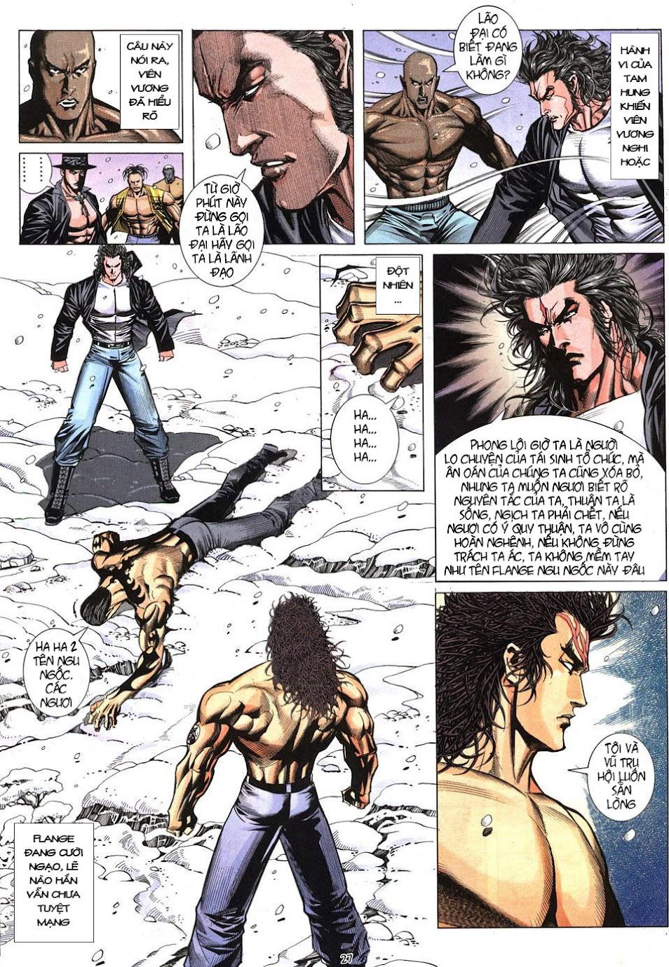 Phong Lôi chap 40 - Trang 28