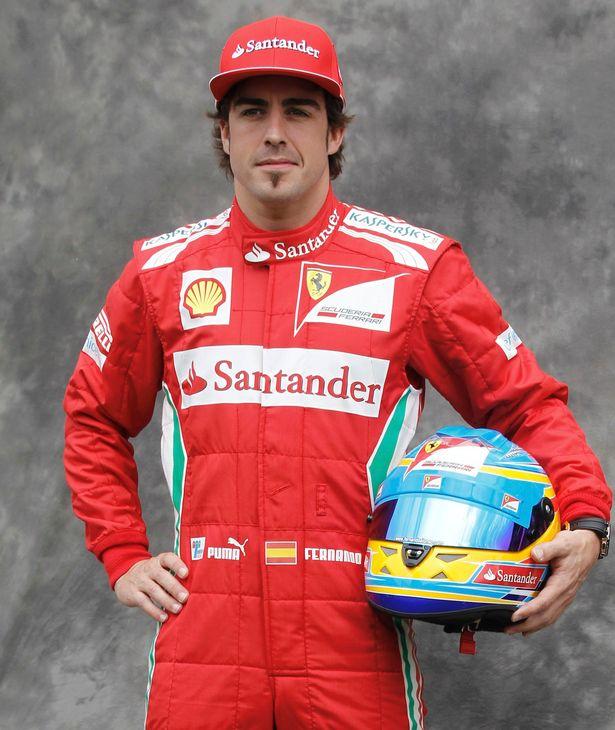 FernandoAlonso - Sports Competiton June 2013