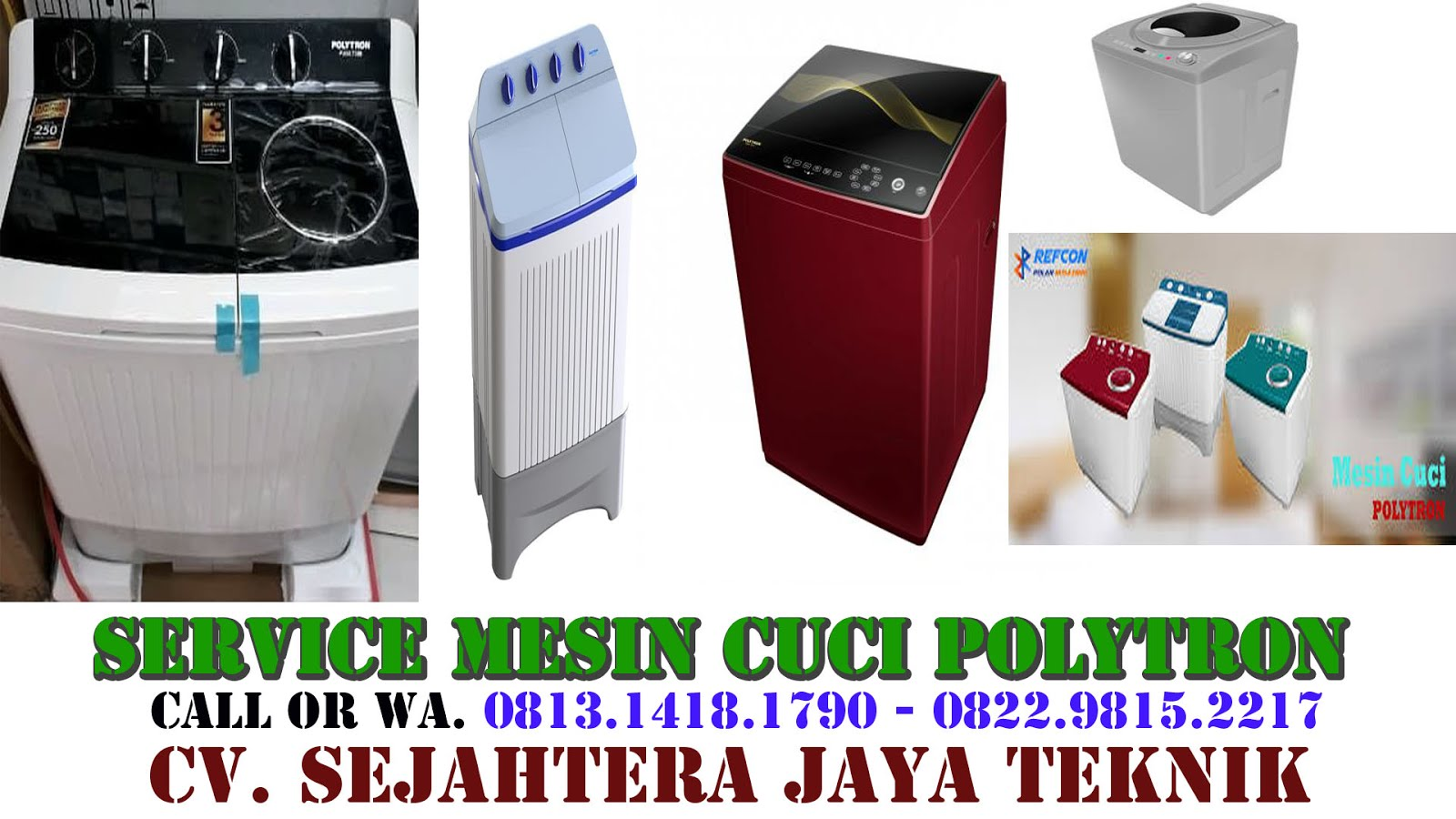 Service Mesin Cuci Polytron di Jakarta Selatan