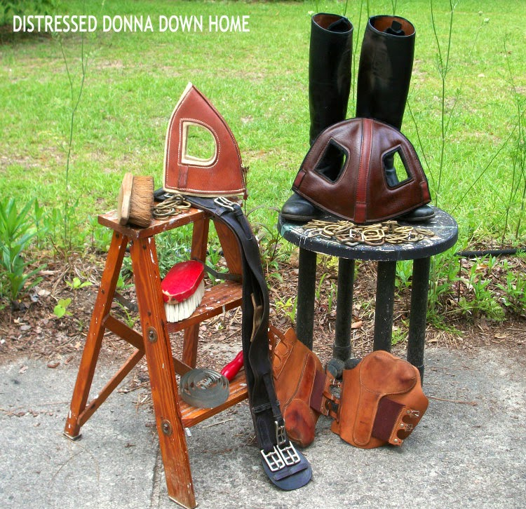 Horse tack finds, thrift store