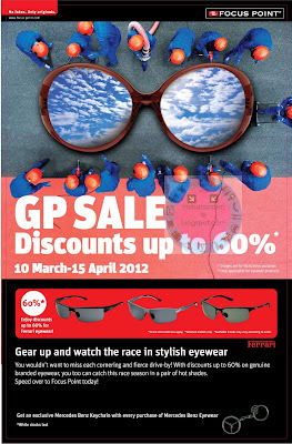 Focus Point GP Sale 2012
