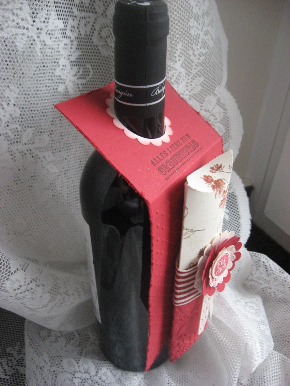 Glitzerperle weinflaschen deko - Weinflaschen deko ...