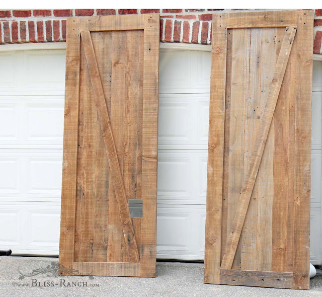 Dumpster Find, Barn Style Doors, Bliss-Ranch.com
