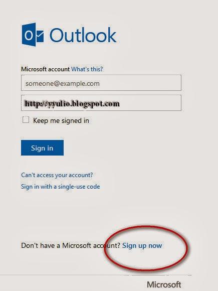 Cara Membuat Email Hotmail Terbaru 2014