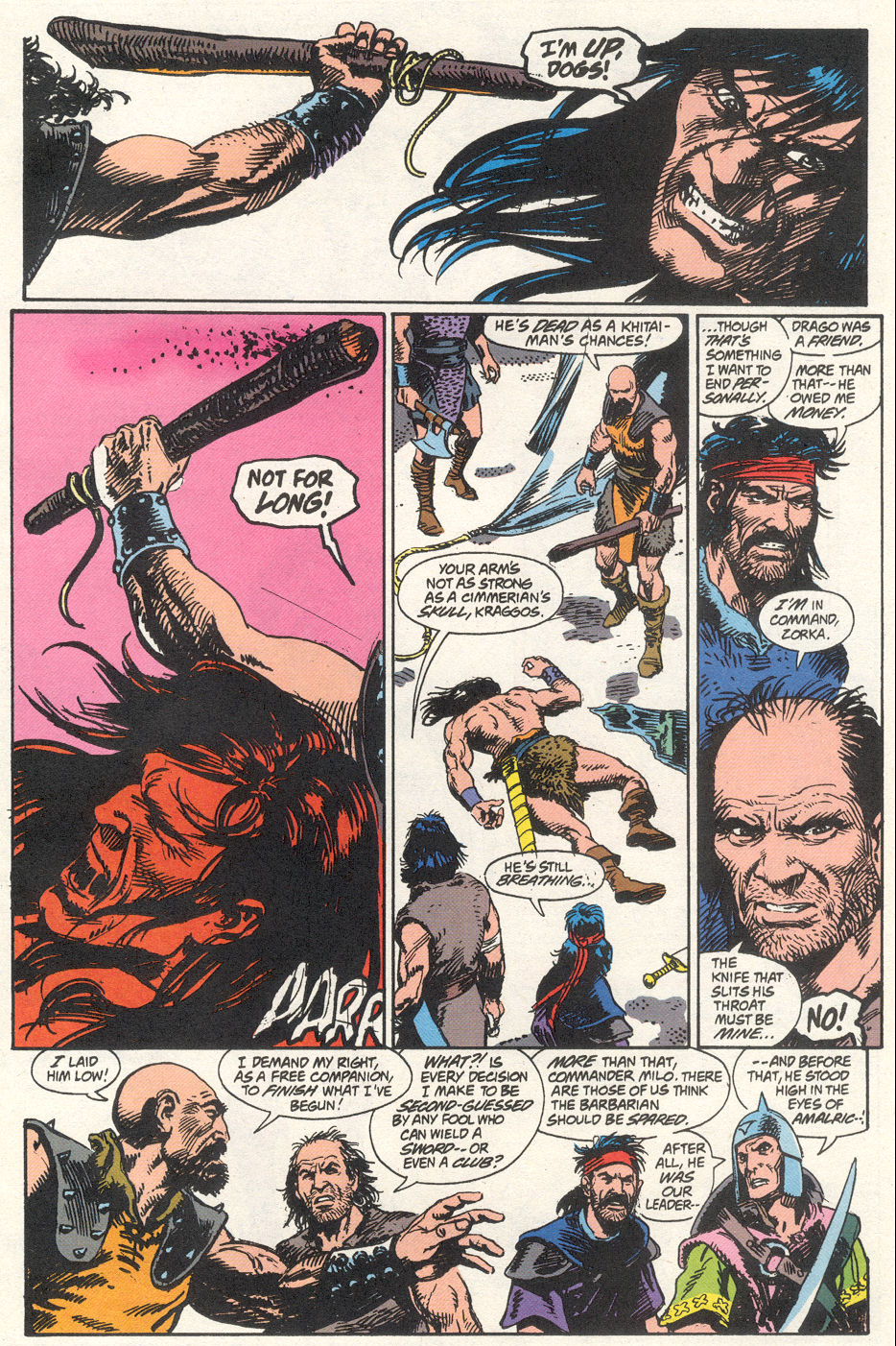 Conan the Barbarian (1970) Issue #275 #287 - English 9
