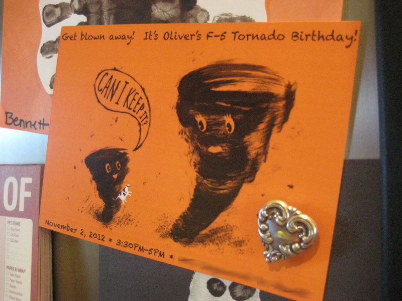 Olivers Tornado Birthday  Bennett Brinson Gamel  ~ 152910_Birthday Party Ideas Okc