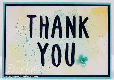 Gorgeous Layered Letters Thank You Cards - check them out here