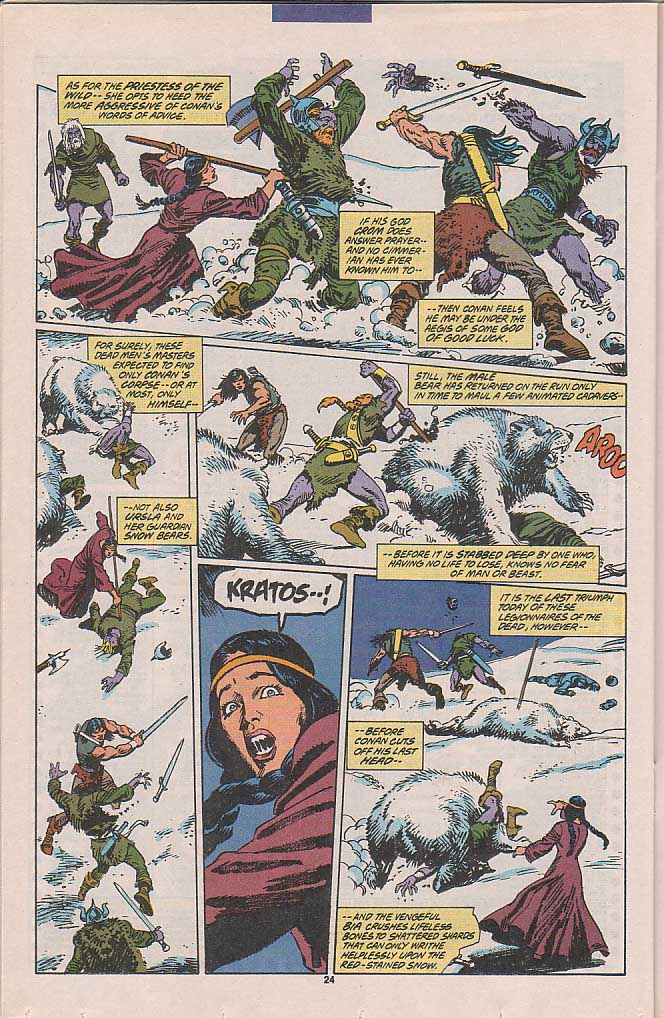 Conan the Barbarian (1970) Issue #258 #270 - English 19