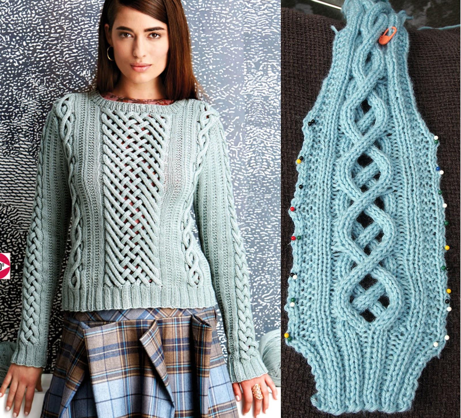 Vogue Knitting Stitch A Day : Dayana Knits: August 2014