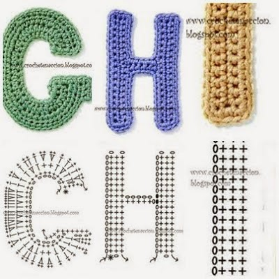 New 3d Crochet Letters Pattern Free