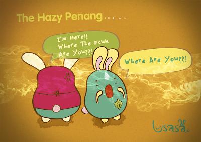 hazy penang malaysia
