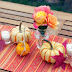 Easy Tabletop with the Naturally Colors 2013 Fall Decorating Ideas