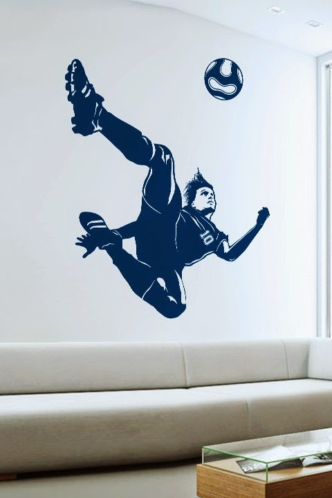 Soccer Futbol Wall Stickers