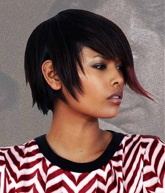 cheveux crépus coiffure lisse tissage