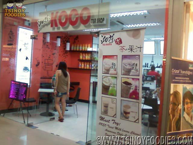 koco tea shop